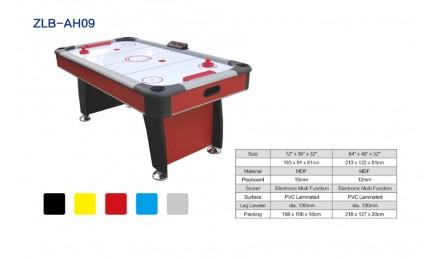自带计分器红色空气曲棍球台SZX-AH09