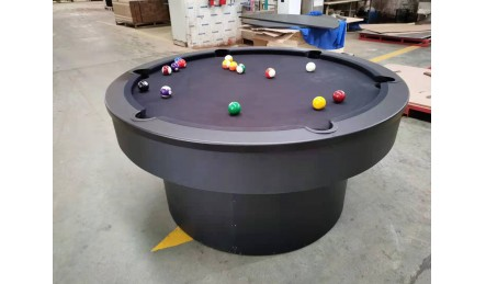 圆形创意家用台球桌