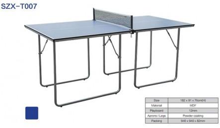 儿童用迷你mini型室内乒乓球桌SZX-T007