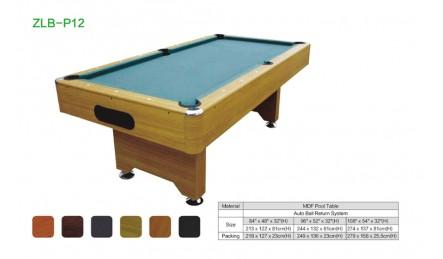 MDF中纤板台球桌SZX-P12