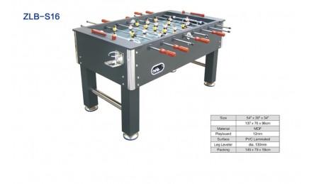 8杆黑色桌上足球机SZX-S16