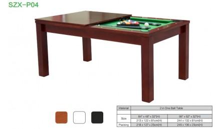 台球餐桌 饭桌台球桌一体 会议台球桌
