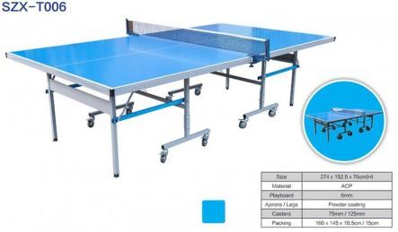 室外乒乓球台_可折叠可移动_标准尺寸球台 SZX-T006