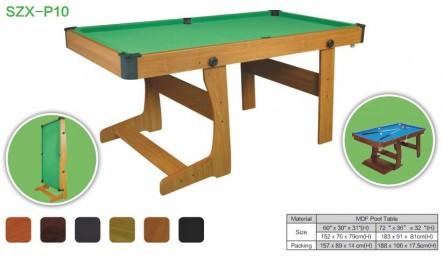 MDF中纤板台球桌SZX-P10