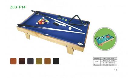 儿童亲子游戏台球桌SZX-P14