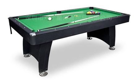 豪华家庭美式台球桌黑色款