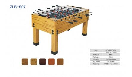 8杆实木纹桌上足球机SZX-S07