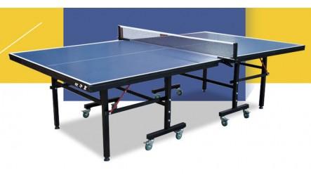 折叠移动带轮乒乓球台