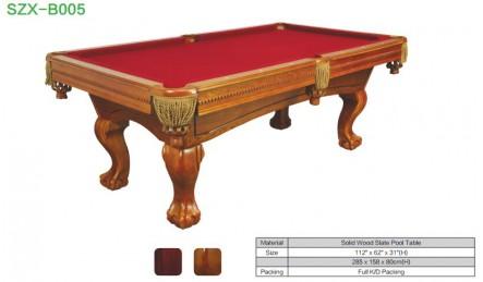 实木台球桌SZX-B005