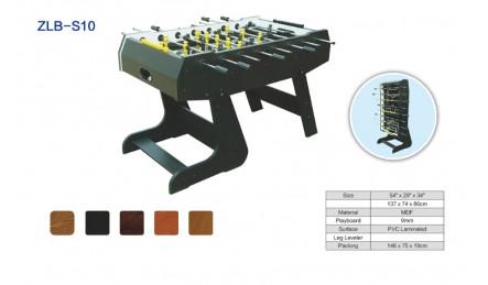 8杆可折叠桌上足球机SZX-S10