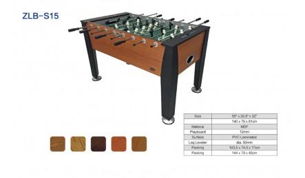 8杆木纹贴皮桌上足球机SZX-S15