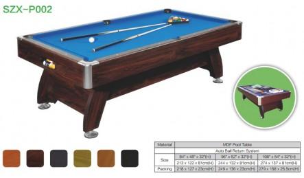 MDF中纤板台球桌SZX-P02
