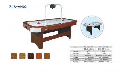 自带计分器木纹空气曲棍球台SZX-AH02