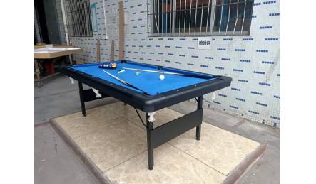 折叠铁架腿家用台球桌