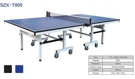 高端可折叠可移动室内乒乓球桌SZX-T005