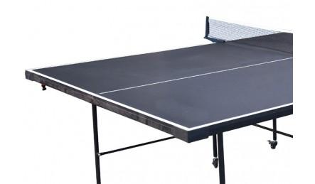 轻便折叠带轮乒乓球桌台面
