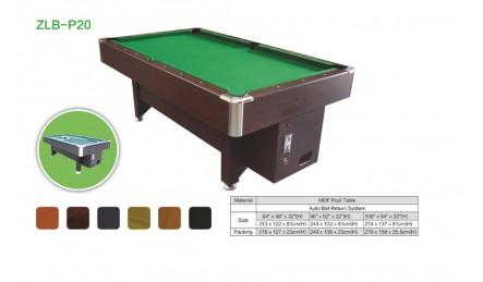 MDF中纤板台球桌SZX-P20