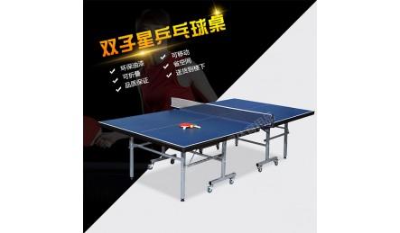 双子星折叠可移动乒乓求桌型号SZX-T002