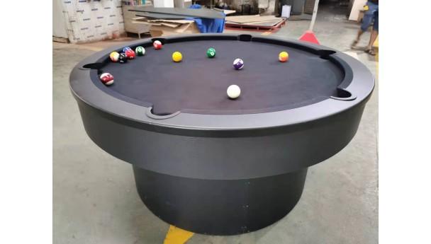 创意圆形台球桌家用趣味玩法