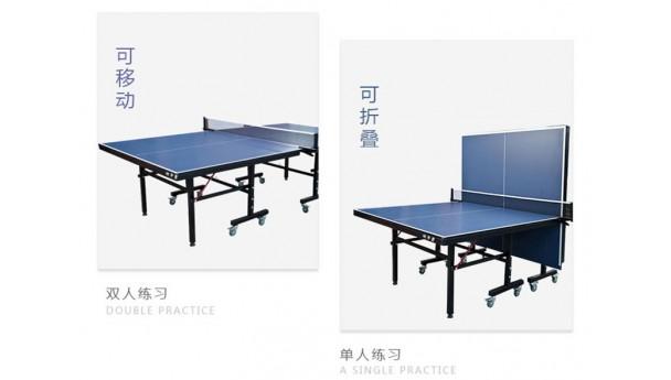 标准折叠式室内乒乓球台多少钱一张?