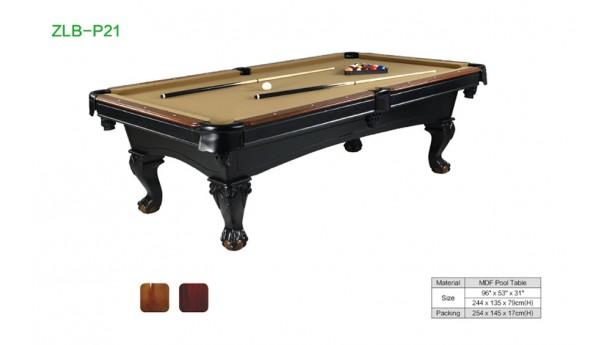 比较市面上各档次台球桌的质量及制作工艺
