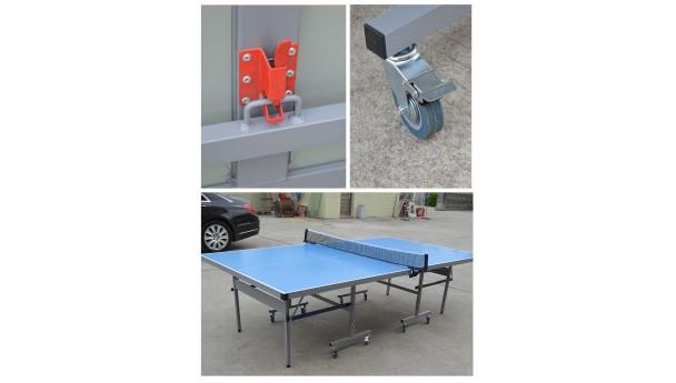 双子星乒乓球台安装方法以及所用的工具