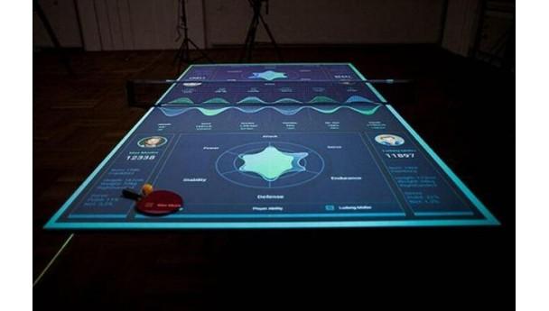 乒乓球桌也能玩黑科技,玩家们该忍不住兴奋!