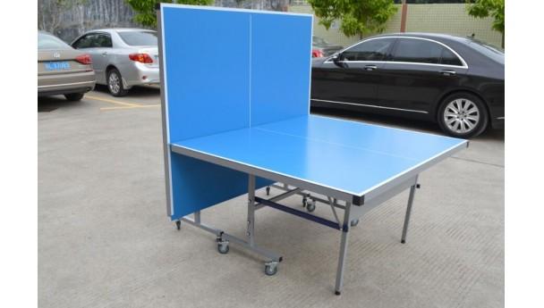 打乒乓球必须俩人?有这折叠乒乓球台一个人也能打