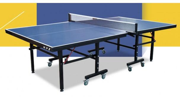 意外发生时双子星乒乓球台质量见真章