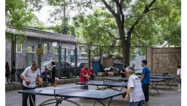 对儿童在公园乒乓球台上捣乱我是这样处置的