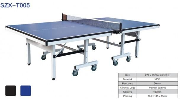 买乒乓球台几个常见参数,代表什么意思?