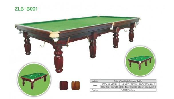 哪些地方可以看出台球桌质量高低