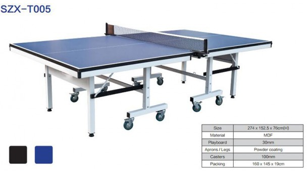 乒乓标准球桌长度宽度高度是多少