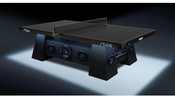 高端乒乓球桌:除了能打球还自带音响