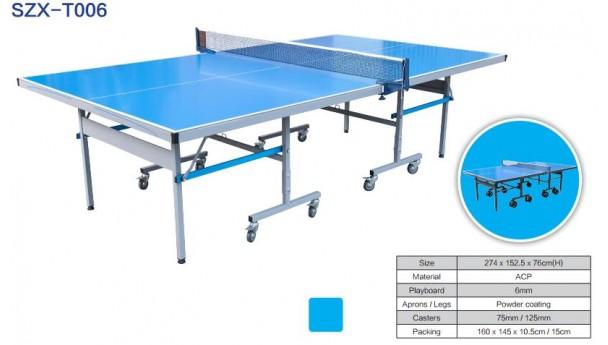 乒乓球桌的尺寸已引起人们的广泛关注