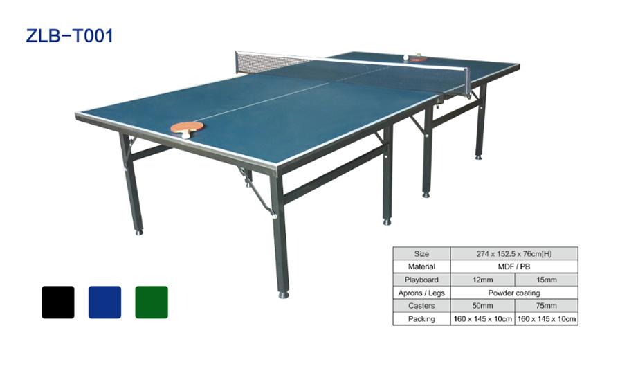 双子星折叠可移动乒乓球桌型号ZLB-T001