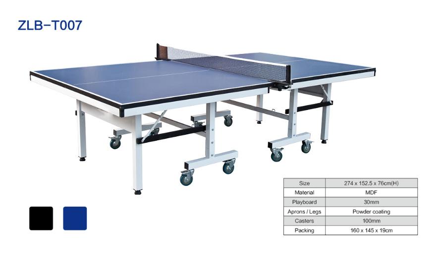 可折叠可移动室内乒乓球桌ZLB-T007
