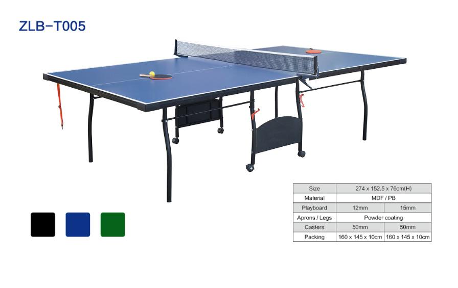 可折叠可移动室内乒乓球桌ZLB-T005