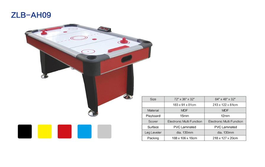 自带计分器红色空气曲棍球台ZLB-AH09